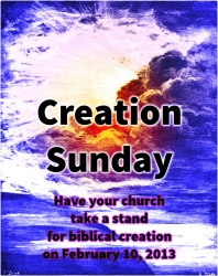 Creation Sunday 2013