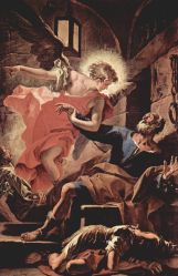 Liberation of St. Peter by Sebastiano Ricci (1659–1734)