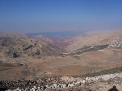 Dead Sea Moab Mtns