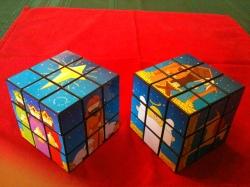 Rubik Christmas Cubes