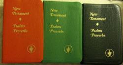 Gideon New Testaments
